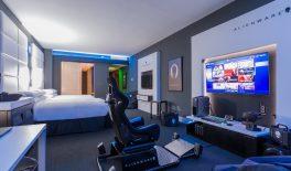 В отеле Hilton появился номер от Alienware, напичканный девайсами по самые помидоры