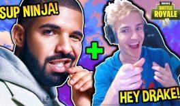 Drake пообещал записать трек из сэмплов Fortnite