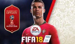 Вышло обновление World Cup для FIFA 18. Играем Марадоной и Яшиным в Краснодаре!