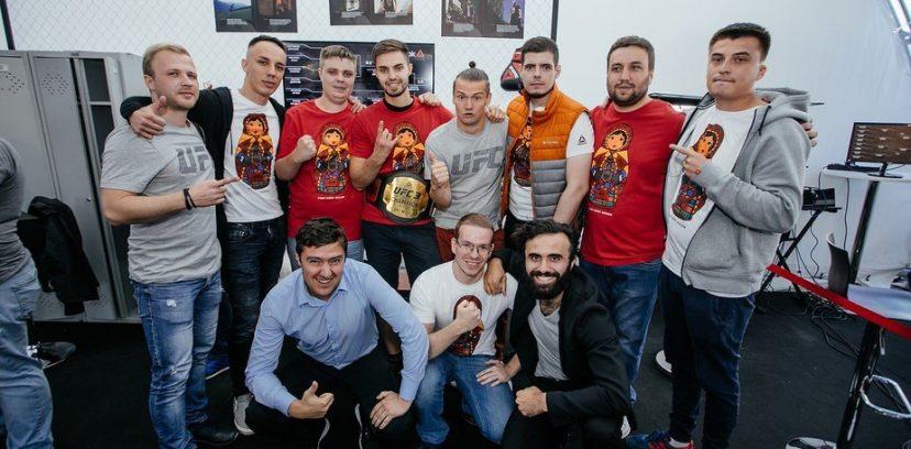 В Москве прошел турнир по UFC 3 от Reebok