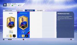 В FIFA 19 покажут вероятность выпадения редких карточек из золотого пака