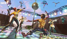 В Fortnite появилась новая ракетница и режим танцпола