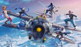 В Fortnite добавили самолёты на пять мест