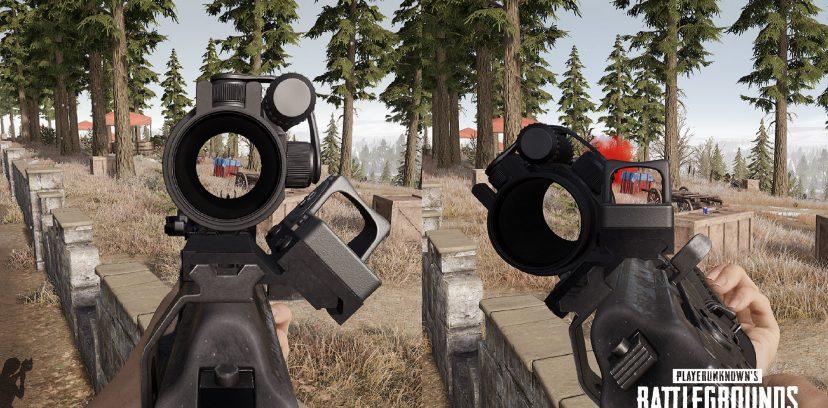 В PUBG новое оружие — пистолет-пулемет и боковой прицел